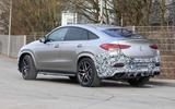 Mercedes-AMG GLE63 Coupe rear side