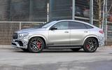 Mercedes-AMG GLE63 Coupe side front