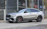 Mercedes-AMG GLE63 Coupe side 3/4