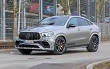 Mercedes-AMG GLE63 Coupe front side