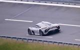 Mercedes AMG One spyshots rear again