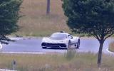 Mercedes AMG One spyshots front