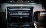 Mercedes-Benz E-Class All-Terrain centre console