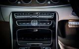 Mercedes-Benz E-Class All-Terrain centre console
