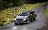 Mercedes-Benz E-Class All-Terrain cornering