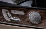 Mercedes-Benz E-Class All-Terrain seat controls