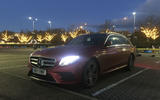 Mercedes-Benz E-Class Estate awaiting the Eurostar