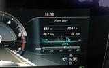 Mercedes-Benz E-Class Estate fuel readout