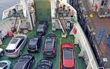 Mercedes-Benz E-Class Estate aboard the ferry