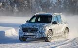Mercedes-Benz GLB prototype ride 2019 - hero front
