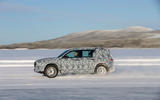 Mercedes-Benz GLB prototype ride 2019 - tracking left