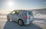 Mercedes-Benz GLB prototype ride 2019 - ice lake rear
