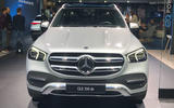 Mercedes-Benz GLE 350de at Frankfurt 2019 - nose