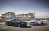 Mercedes-Benz S560 Coupé and Cabriolet