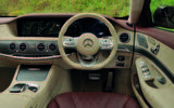 Mercedes-Benz S350d dashboard