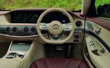 Mercedes-Benz S350d dashboard