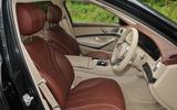 Mercedes-Benz S350d interior