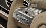 Mercedes-Benz S350d steering wheel controls