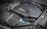 4.0-litre V8 Mercedes-Benz S560 Coupé petrol engine