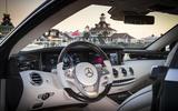Mercedes-Benz S560 Coupé interior