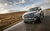 Mercedes-Benz X-Class cornering