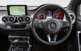 Mercedes-Benz X-Class dashboard