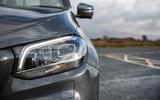 Mercedes-Benz X-Class LED headlights