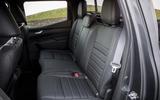 Mercedes-Benz X-Class rear seats