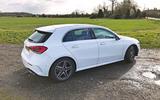Mercedes Benz A-Class white exterior