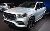 Mercedes-Benz GLS 2019 New York motor show reveal - lead