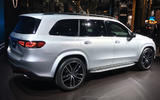 Mercedes-Benz GLS 2019 New York motor show reveal - rear