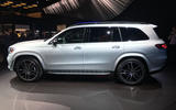 Mercedes-Benz GLS 2019 New York motor show reveal - left side