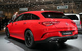 Mercedes CLA Shooting Brake Geneva press stand - rear