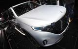 Mercedes Concept EQV Geneva stand - nose