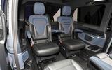 Mercedes Concept EQV Geneva stand - rear seats