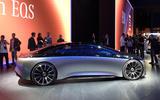 Mercedes Vision EQS Concept at Frankfurt - right