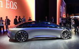 Mercedes Vision EQS Concept at Frankfurt - right