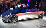 Mercedes Vision EQS Concept at Frankfurt - side