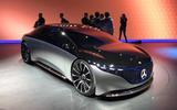 Mercedes Vision EQS Concept at Frankfurt - nose