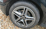 Mercedes A-Class long-term review - A200 alloy wheels