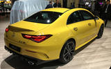 Mercedes-AMG CLA35 - New York motor show 2019 - rear