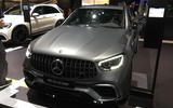 Mercedes-AMG GLC63 - New York Motor Show 2019 - nose
