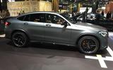 Mercedes-AMG GLC63 - New York Motor Show 2019 - side