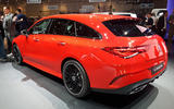 Mercedes-Benz CLA Shooting Brake Geneva - rear