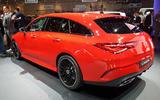Mercedes-Benz CLA Shooting Brake Geneva - rear