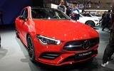 Mercedes-Benz CLA Shooting Brake Geneva - front end