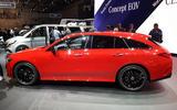 Mercedes-Benz CLA Shooting Brake Geneva - side