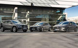 Mercedes EQ CLA, CLA shooting Brake and GLA - official images