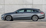 Mercedes CLA Shooting Brake EQ - side