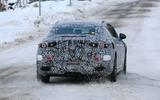 Mercedes EQ E spyshots rear dead